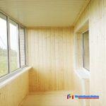 Материал для обшивки балкона или лоджии изнутри
