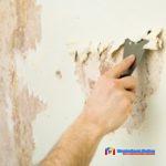 Механический способ удаления обоев со стен