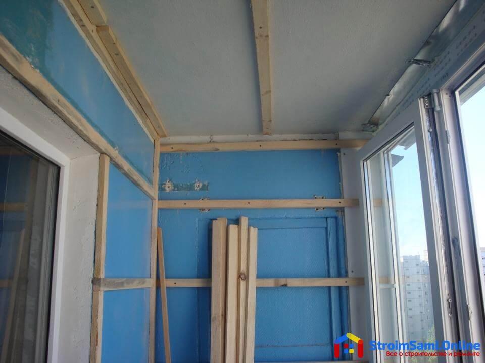Балконы обшивка пластиковой вагонкой своими руками