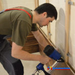 Монтаж деревянных стеновых панелей