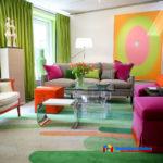 Цветовые акценты в интерьере квартиры