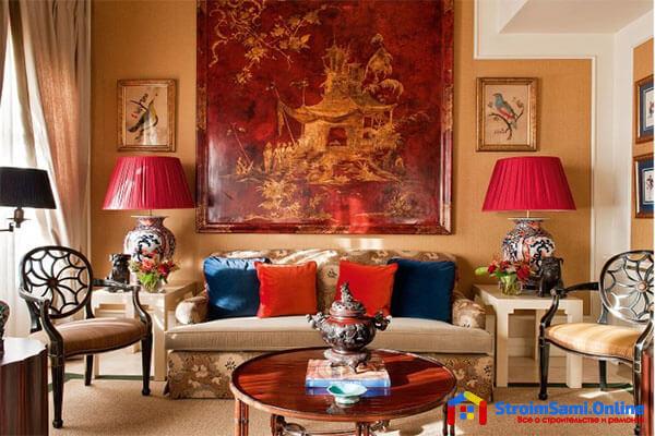 На фото: дизайн спальни в колониальном стиле