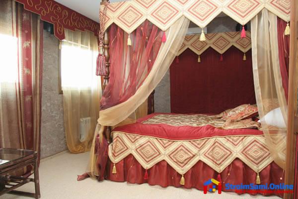 На фото: дизайн спальни в восточном стиле