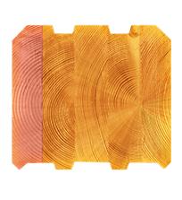 Текстура клееного бруса