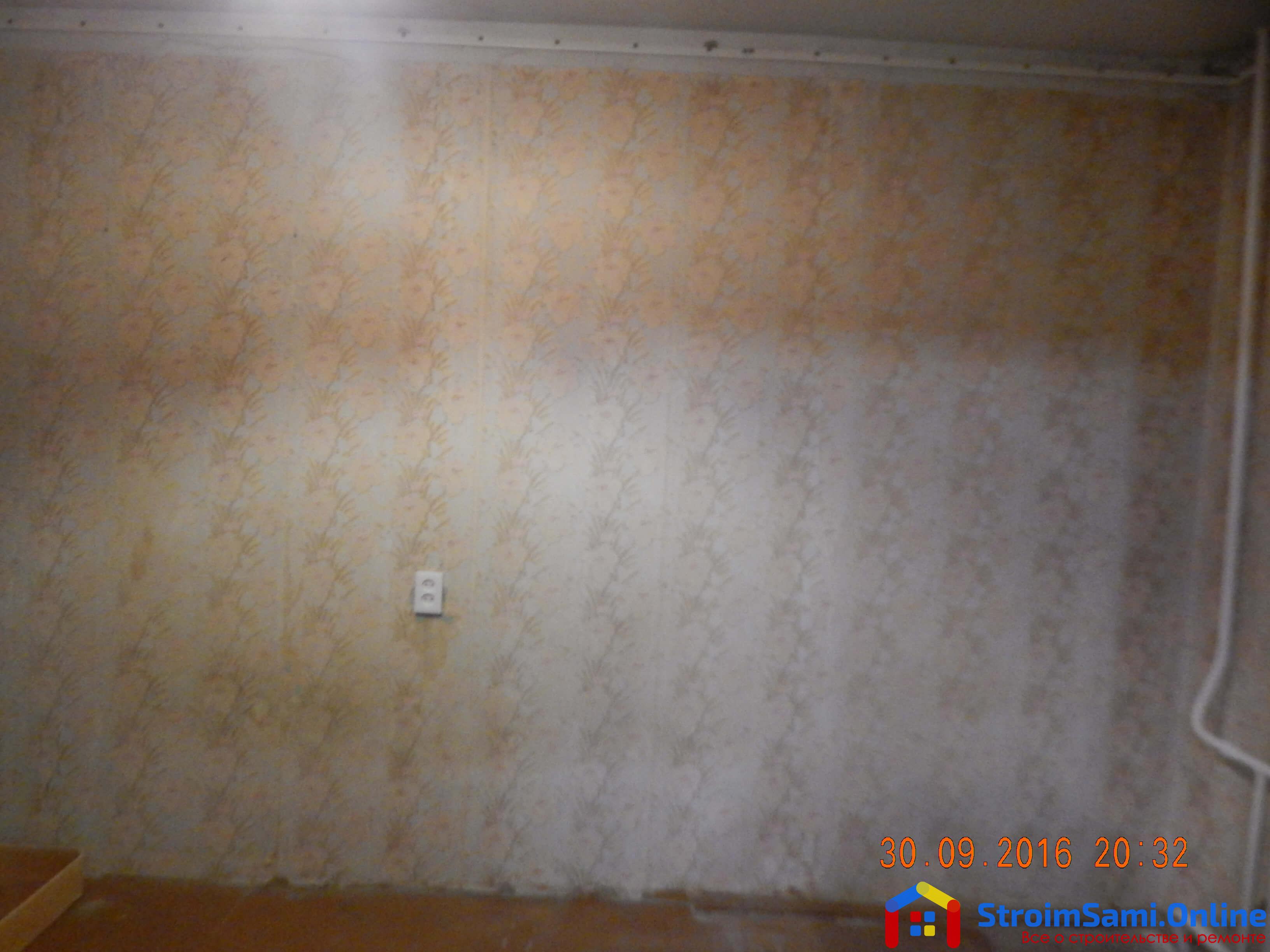 На фото: спальня ДО ремонта