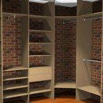 Гардеробная комната в квартире или доме: варианты планировки