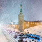 Когда выпадет снег в 2017 году в Москве