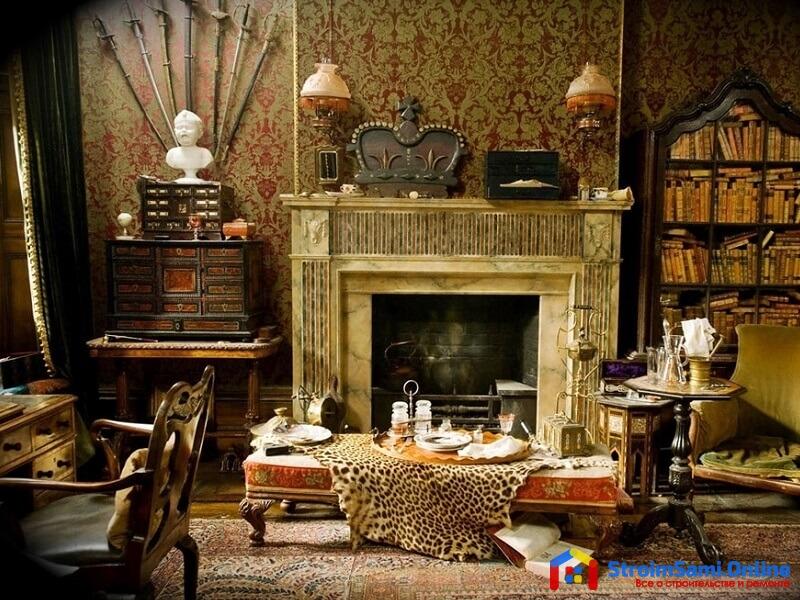 На фото: викторианский стиль в интерьере