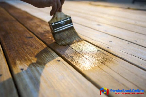 Средства для обработки древесины