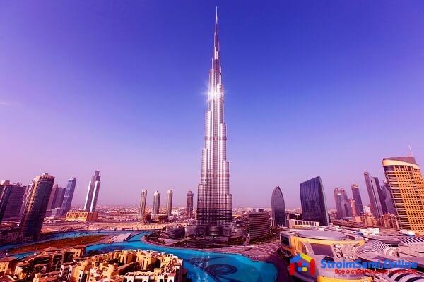 На фото: Башня Халифа