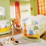 На фото: детская комната для новорожденного