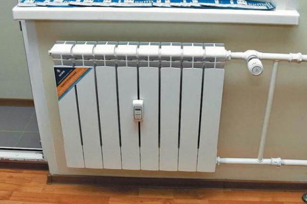 Радиаторный распределитель тепла