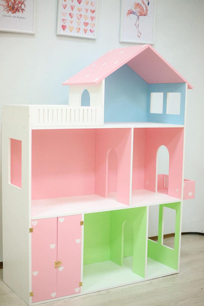Кукольный домик ручной работы