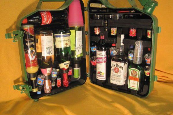 Мини-бар для дома своими руками: оригинальная идея