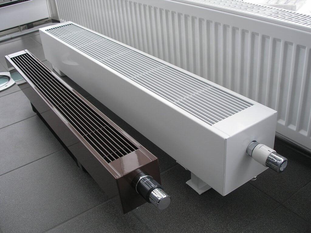 Напольный конвектор отопления