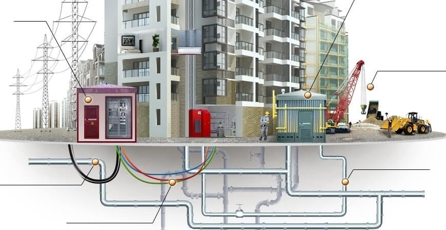 Инженерные сети и коммуникации