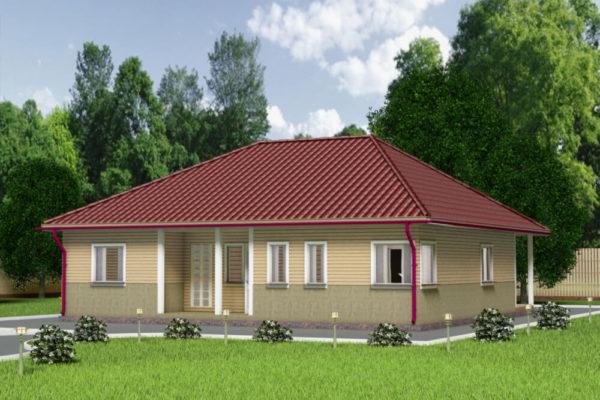 Каркасные дома 12х12