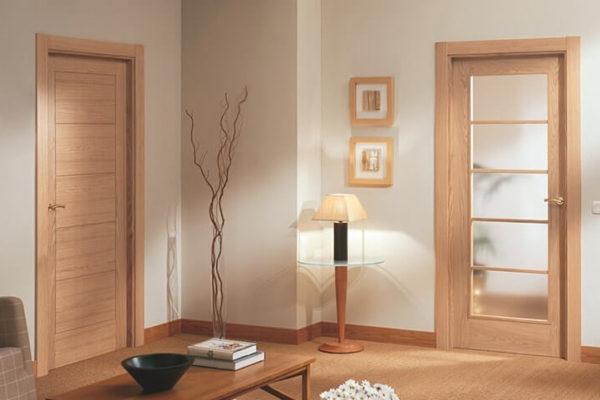 На фото: межкомнатные двери