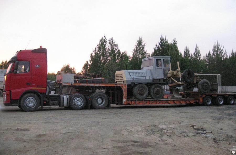 Перевозка негабаритных грузов тягачами и тралами