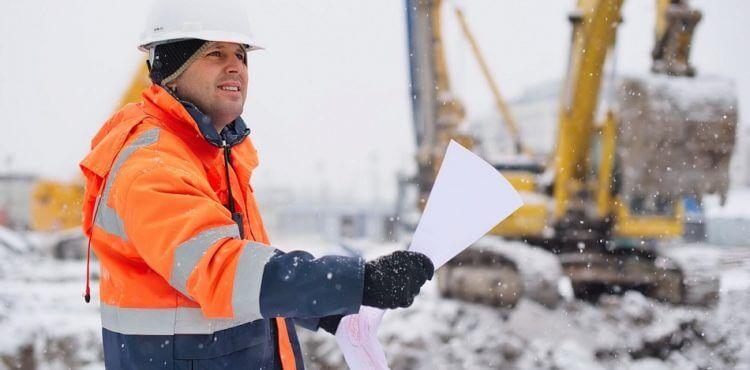 Удобная зимняя спецодежда для строителей