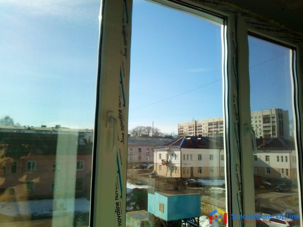 Фото 23: застекленный балкон (вид изнутри)