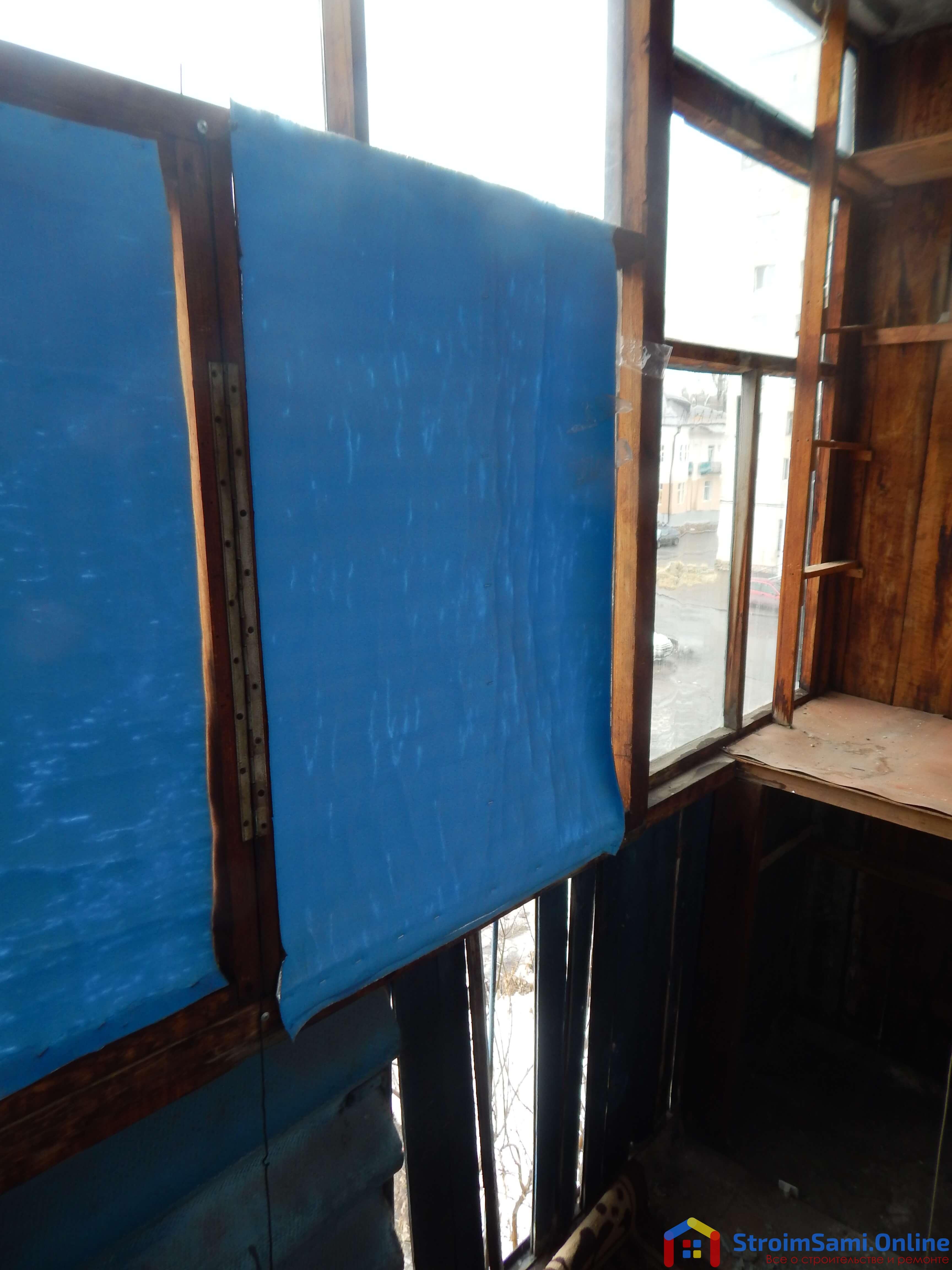 Фото 3: старые деревянные оконные рамы
