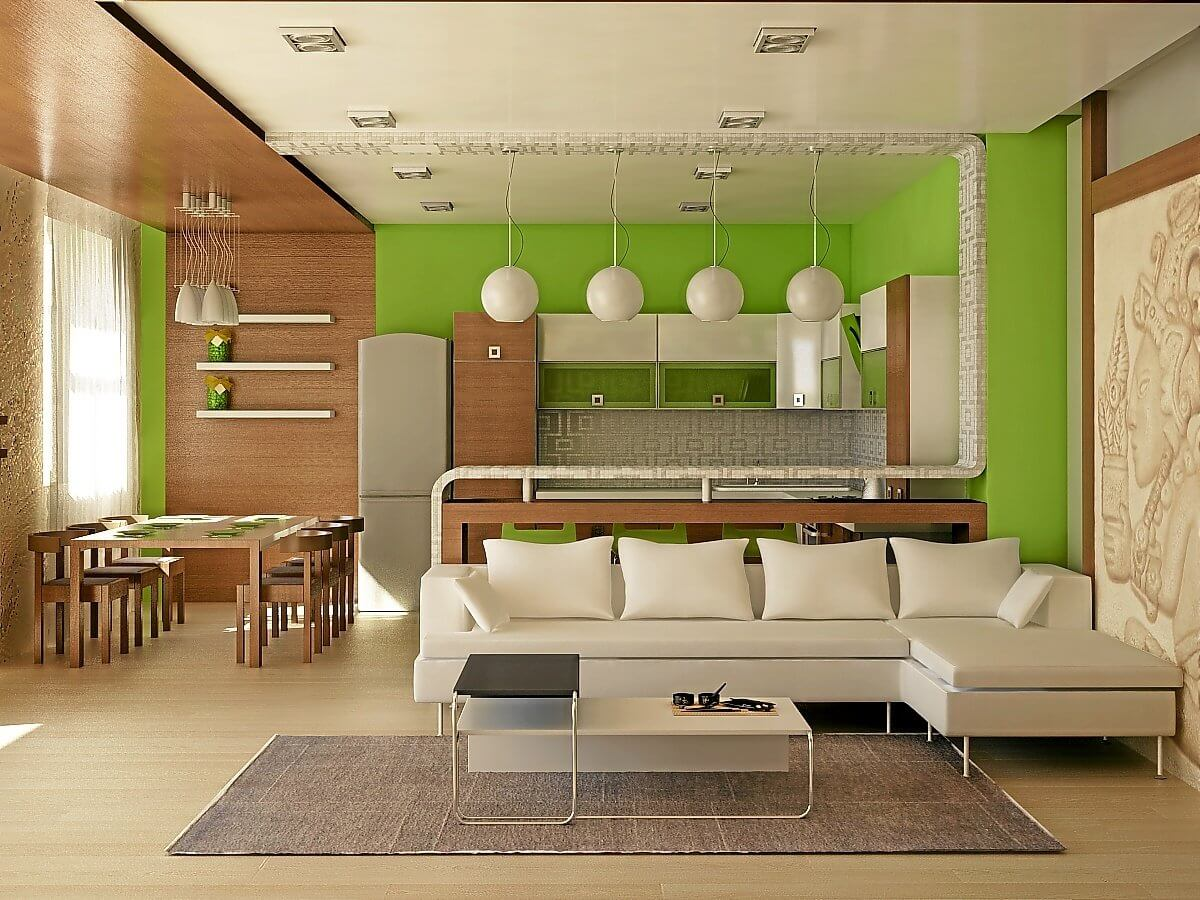 Квартира-студия: фото интерьера