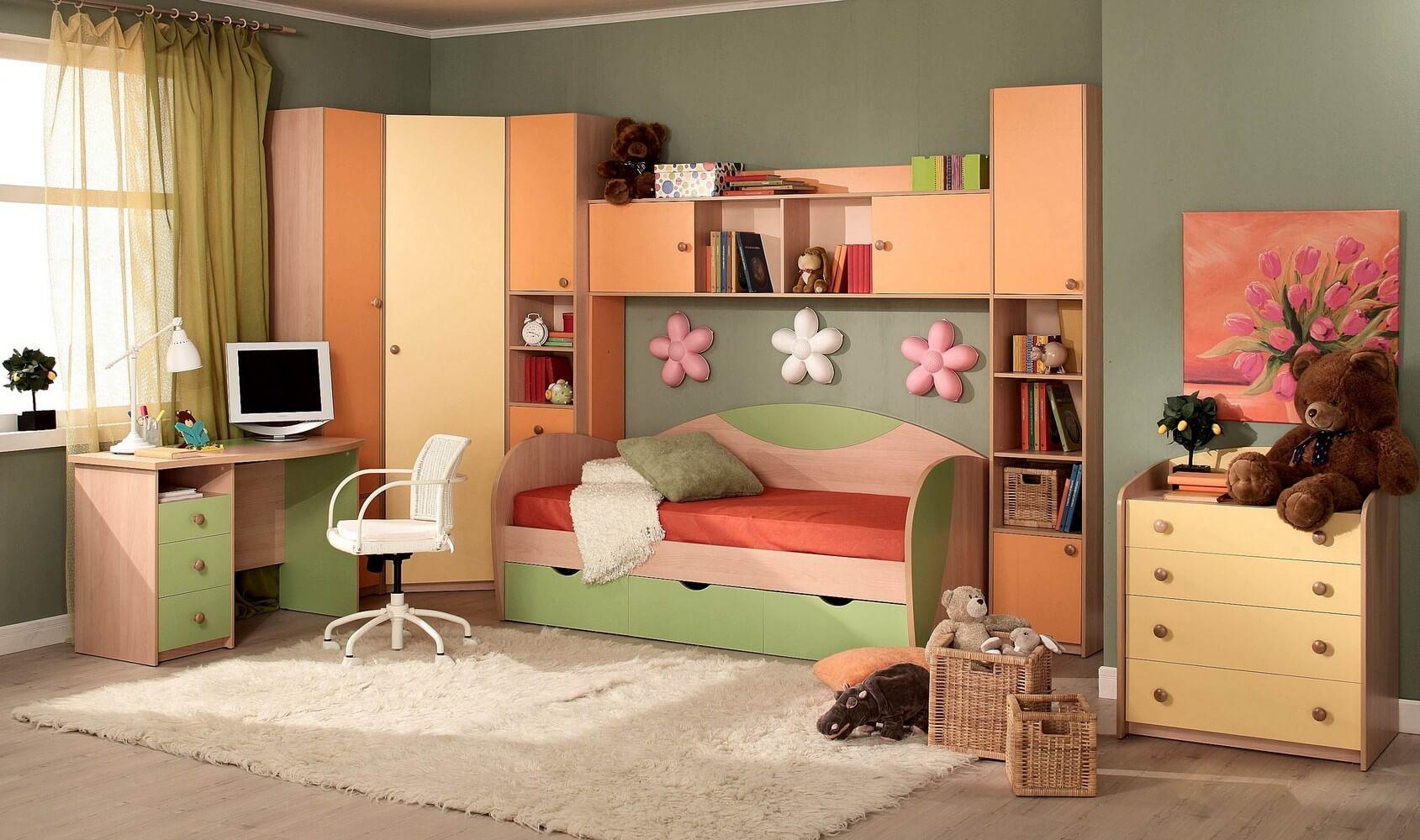 На фото: интерьер детской комнаты