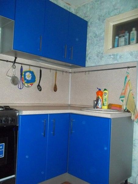 На фото: маленькая кухня