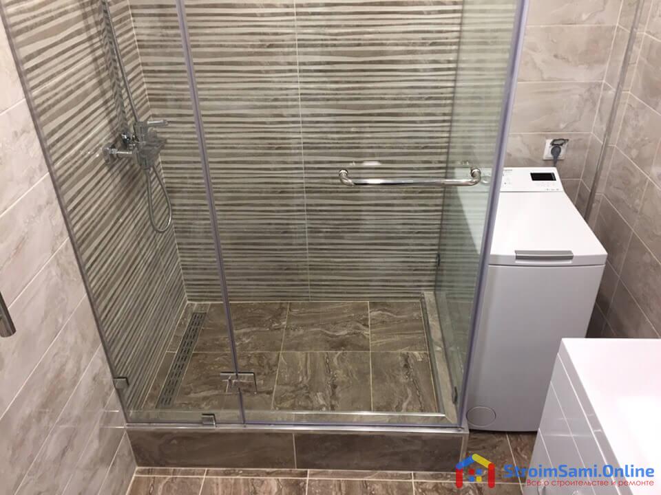 Ремонт в ванной и санузле