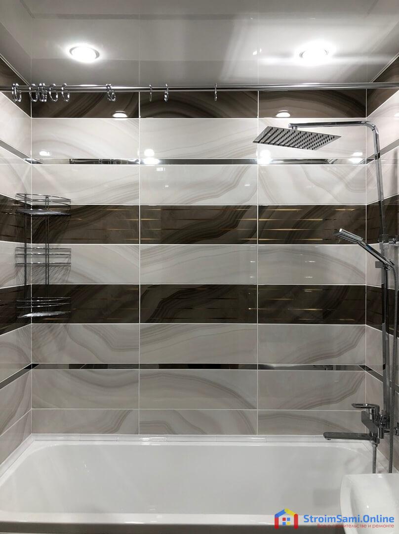 На фото: оригинальный ремонт в ванной комнате