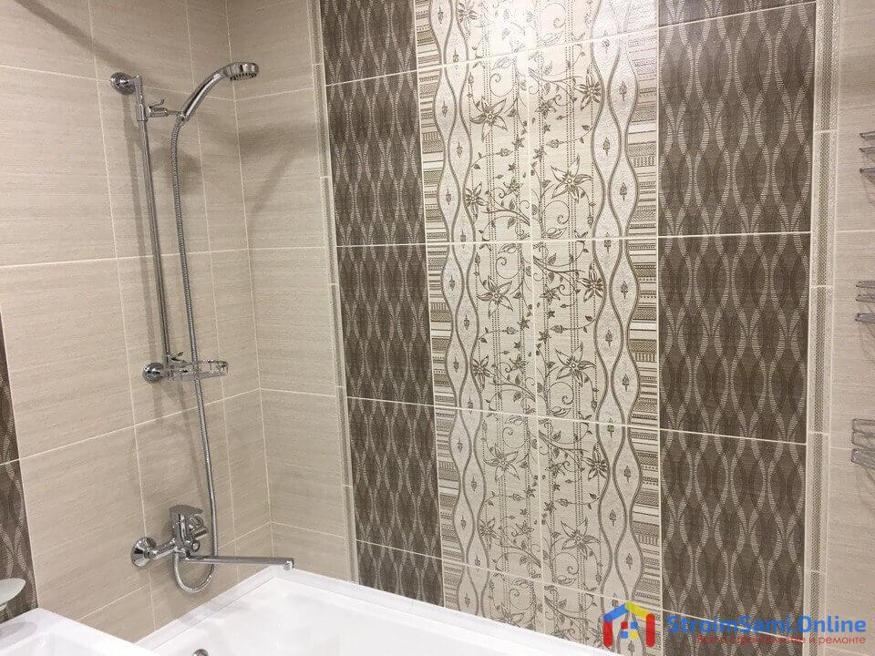 Фото 6: стена в ванной, только с другого ракурса.