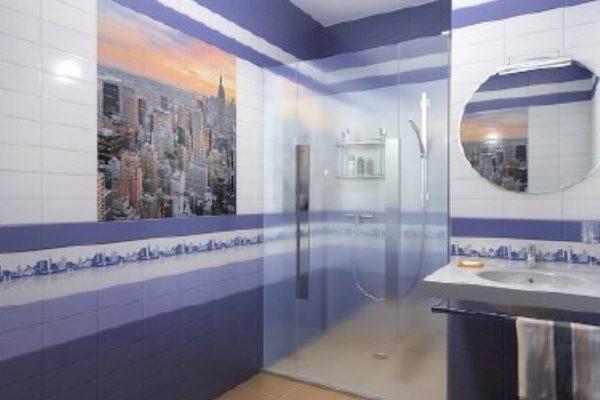 На фото: стеновые панели ПВХ