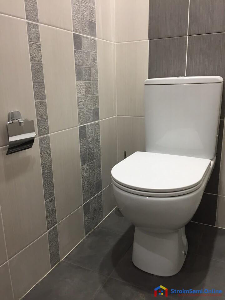 На фото: ремонт в туалете своими руками