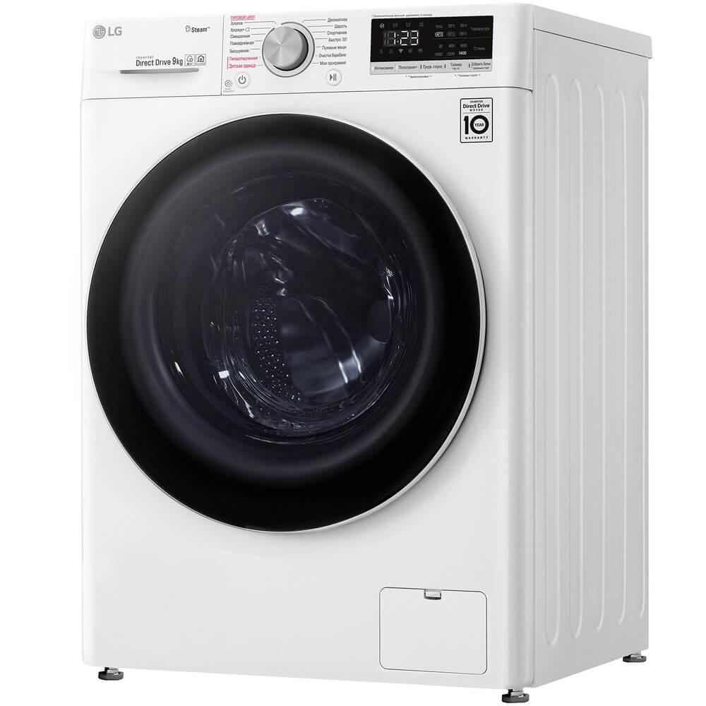 На фото: стиральная машина LG